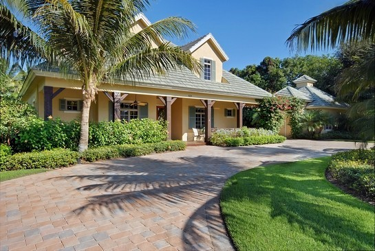 Real Estate Photography - 605 Bougainvillea Rd, Naples, FL, 34102 - Front View