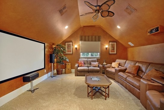 Real Estate Photography - 605 Bougainvillea Rd, Naples, FL, 34102 - Theater