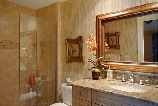 Real Estate Photography - 605 Bougainvillea Rd, Naples, FL, 34102 - Bathroom