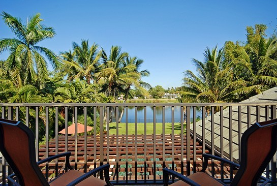 Real Estate Photography - 605 Bougainvillea Rd, Naples, FL, 34102 - Balcony