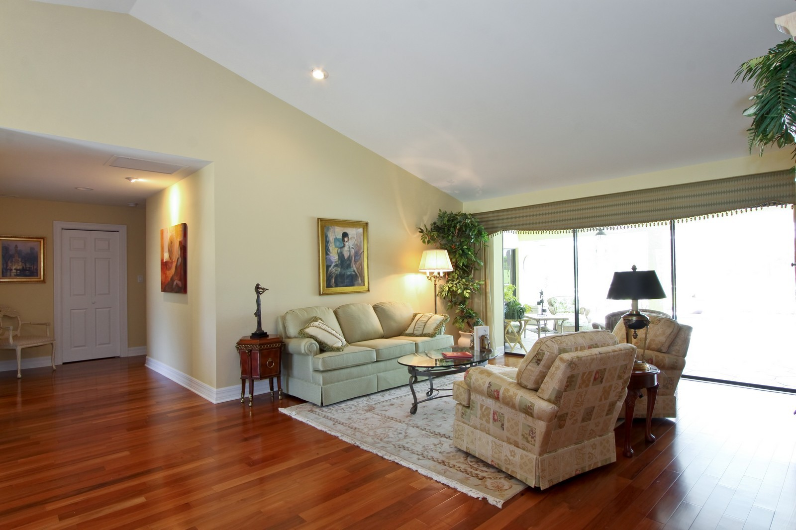 Real Estate Photography - 1986 Imperial GC Blvd, Naples, FL, 34110 - Living Room