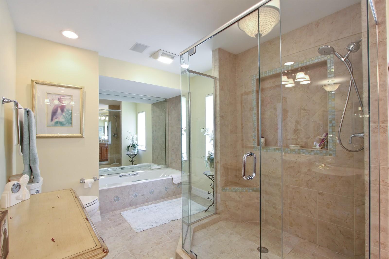 Real Estate Photography - 1986 Imperial GC Blvd, Naples, FL, 34110 - Master Bathroom