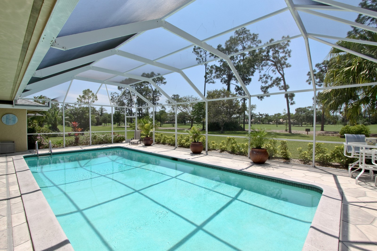 Real Estate Photography - 1986 Imperial GC Blvd, Naples, FL, 34110 - Pool