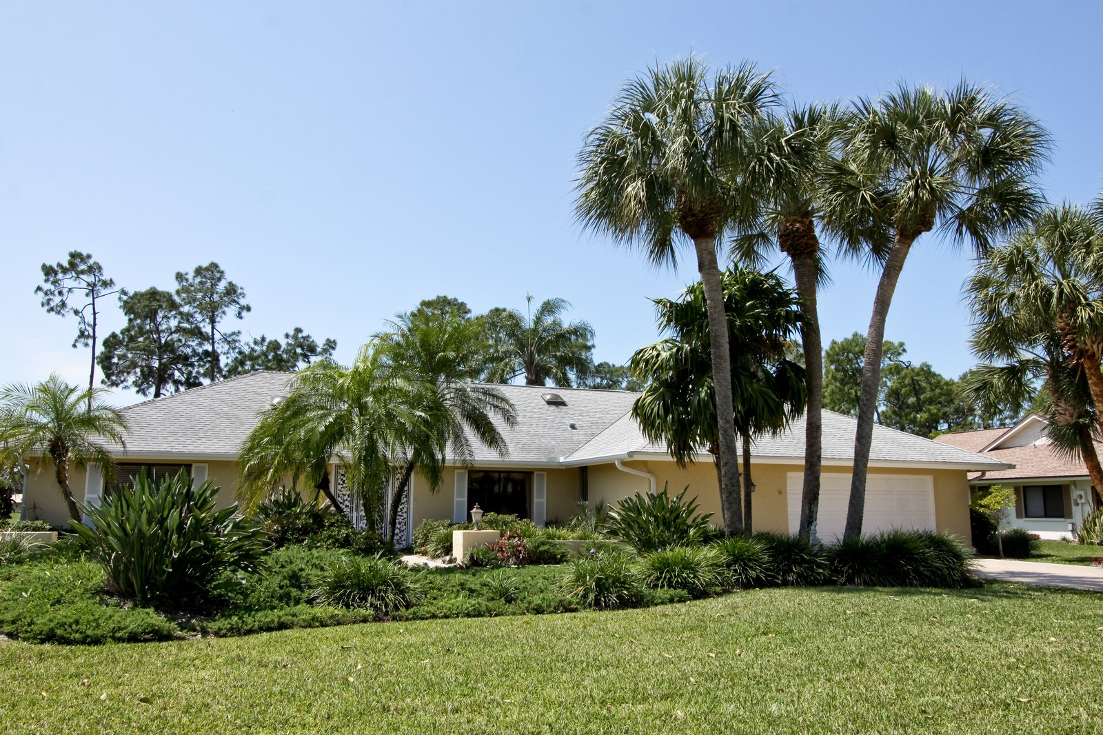 Real Estate Photography - 1986 Imperial GC Blvd, Naples, FL, 34110 - Front View