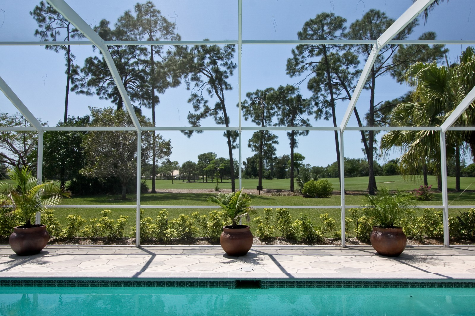 Real Estate Photography - 1986 Imperial GC Blvd, Naples, FL, 34110 - Side View