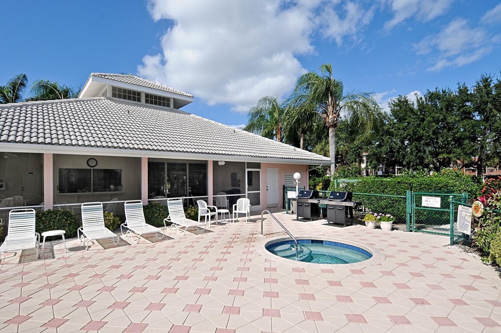 Real Estate Photography - 13060 Hamilton Harbour Dr., H-5, Naples, FL, 34110 - Clubhouse