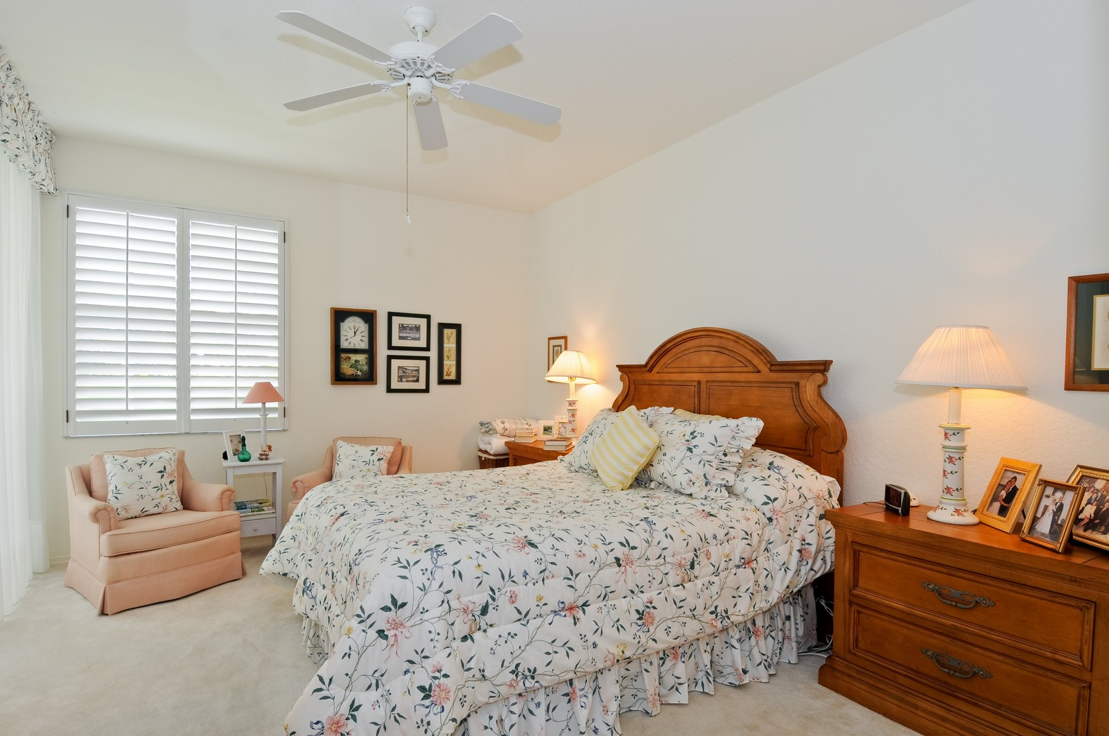 Real Estate Photography - 13060 Hamilton Harbour Dr., H-5, Naples, FL, 34110 - Master Bedroom