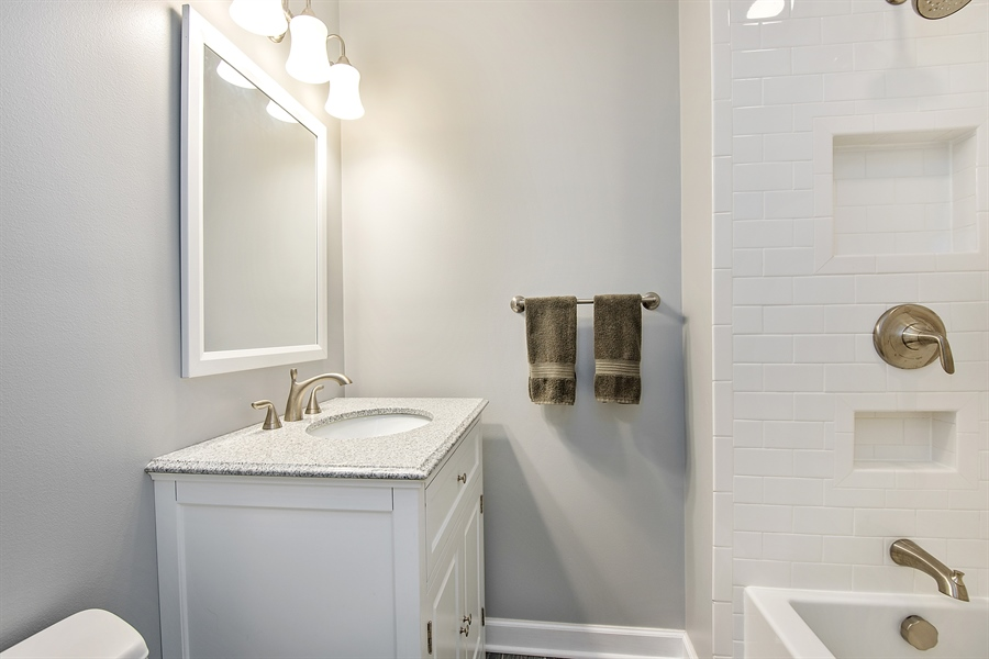 Real Estate Photography - 5404 N Hoyne, Chicago, IL, 60625 - 3rd Bathroom