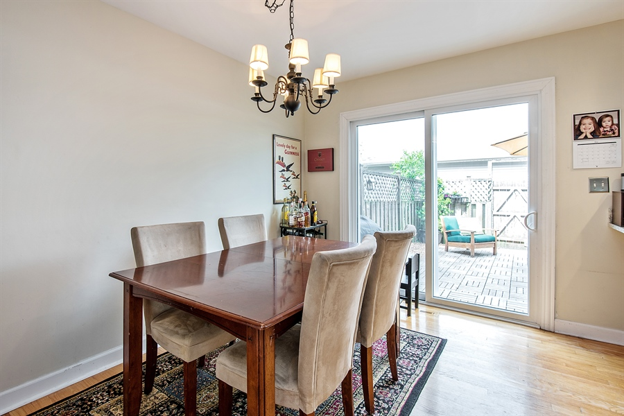Real Estate Photography - 5404 N Hoyne, Chicago, IL, 60625 - Dining Room