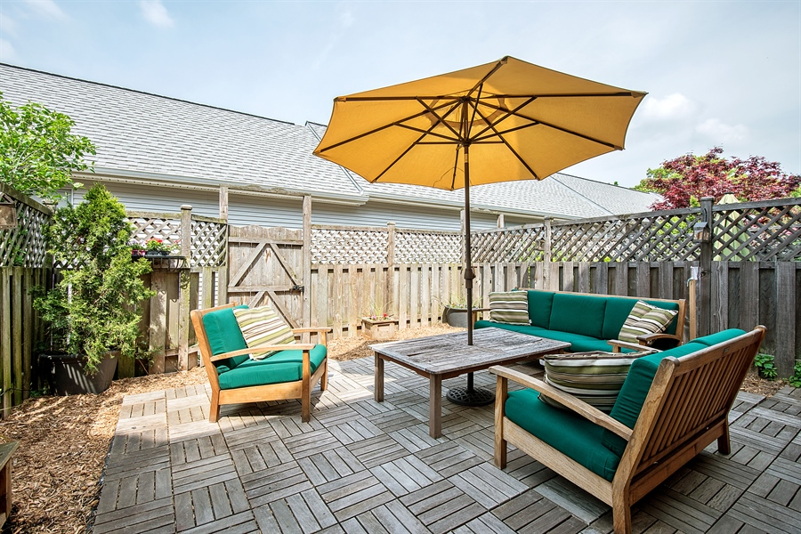 Real Estate Photography - 5404 N Hoyne, Chicago, IL, 60625 - Patio