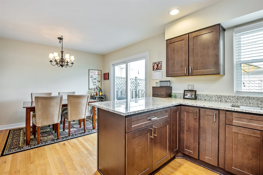 Real Estate Photography - 5404 N Hoyne, Chicago, IL, 60625 - Kitchen / Dining Room