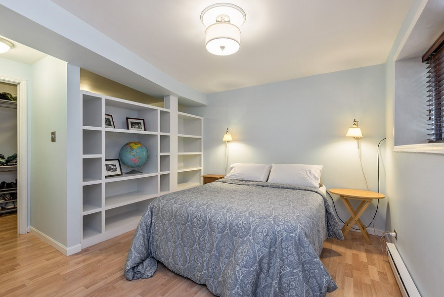 Real Estate Photography - 4822 N Winchester, 1N, Chicago, IL, 60625 - Master Bedroom