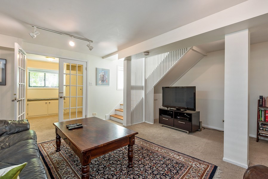 Real Estate Photography - 4822 N Winchester, 1N, Chicago, IL, 60625 - Family Room