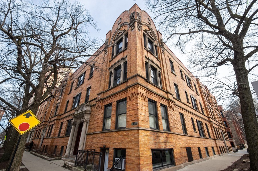 Real Estate Photography - 529 W Surf, 1B, Chicago, IL, 60657 - Front View