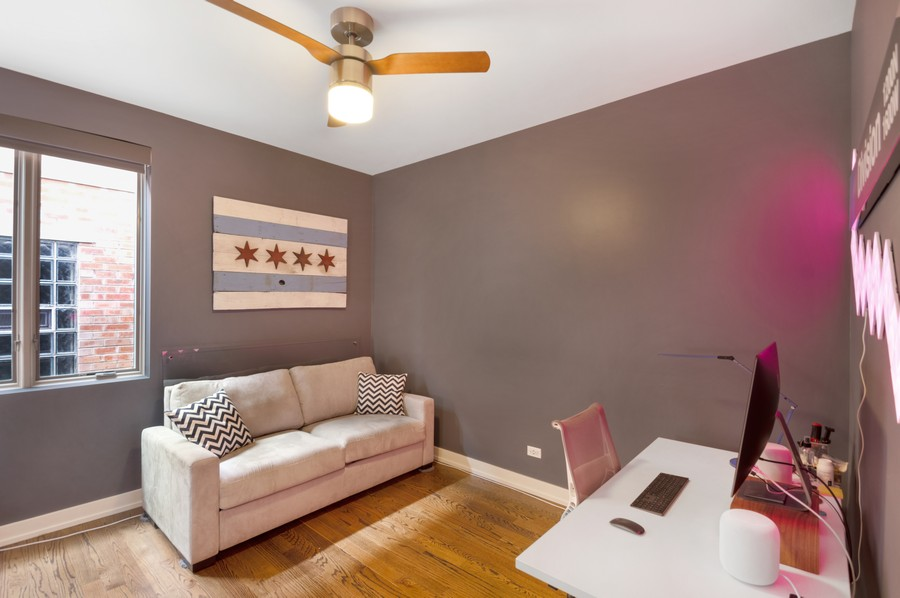 Real Estate Photography - 1113 N Ashland Ave, Unit 3, Chicago, IL, 60622 - 3rd Bedroom