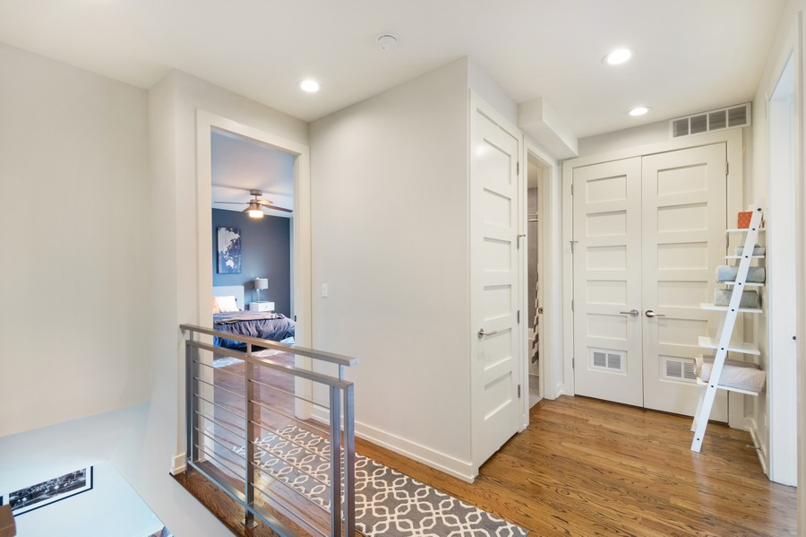 Real Estate Photography - 1113 N Ashland Ave, Unit 3, Chicago, IL, 60622 - 2nd Floor Corridor