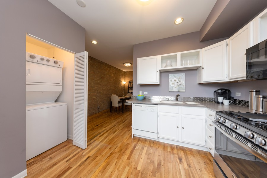 Real Estate Photography - 3822 W. Altgeld #1, Chicago, IL, 60647 - Laundry Room