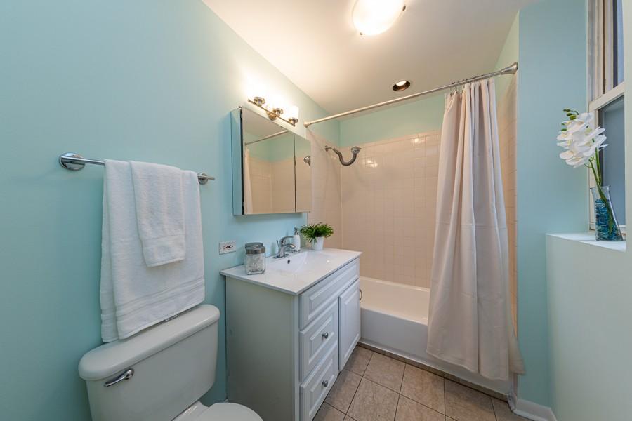 Real Estate Photography - 3822 W. Altgeld #1, Chicago, IL, 60647 - Bathroom