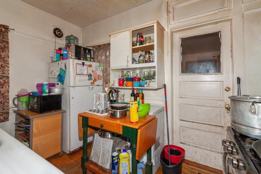 Real Estate Photography - 4718 W Belle Plaine, Chicago, IL, 60641 - Kitchen
