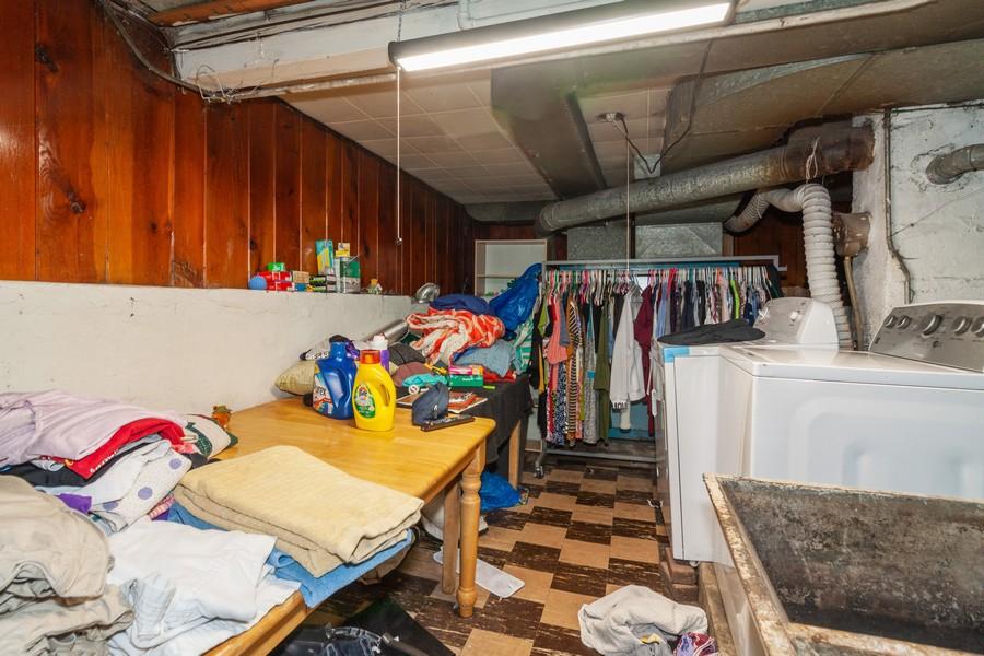 Real Estate Photography - 4718 W Belle Plaine, Chicago, IL, 60641 - Basement
