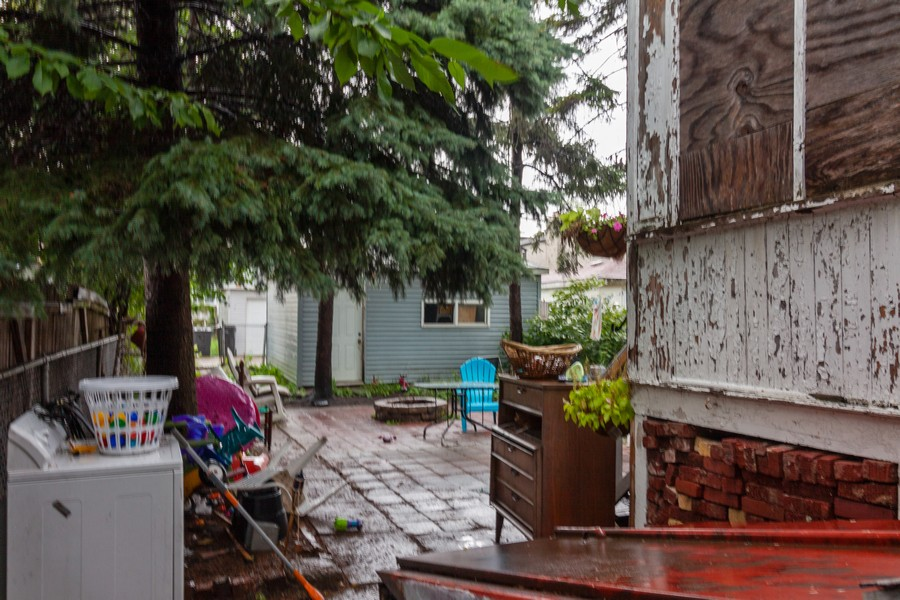Real Estate Photography - 4718 W Belle Plaine, Chicago, IL, 60641 - Back Yard