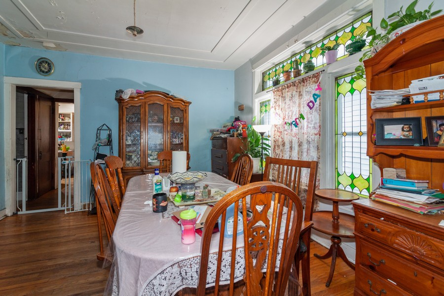 Real Estate Photography - 4718 W Belle Plaine, Chicago, IL, 60641 - Dining Area