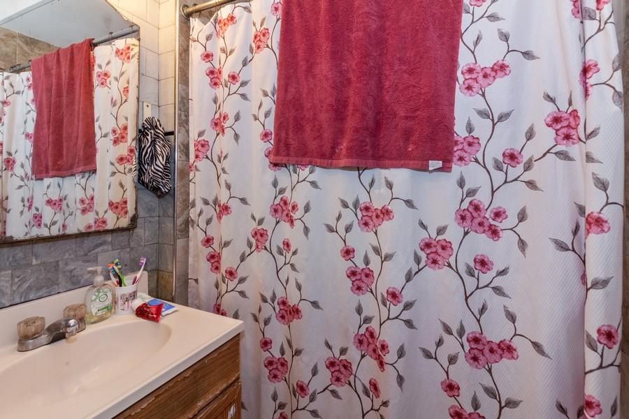 Real Estate Photography - 4718 W Belle Plaine, Chicago, IL, 60641 - Bathroom