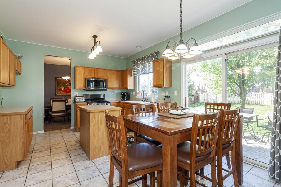 Real Estate Photography - 2021 Lyndhurst, Aurora, IL, 60503 - Kitchen / Breakfast Room