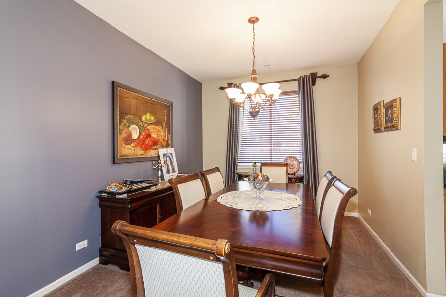 Real Estate Photography - 2021 Lyndhurst, Aurora, IL, 60503 - Dining Area