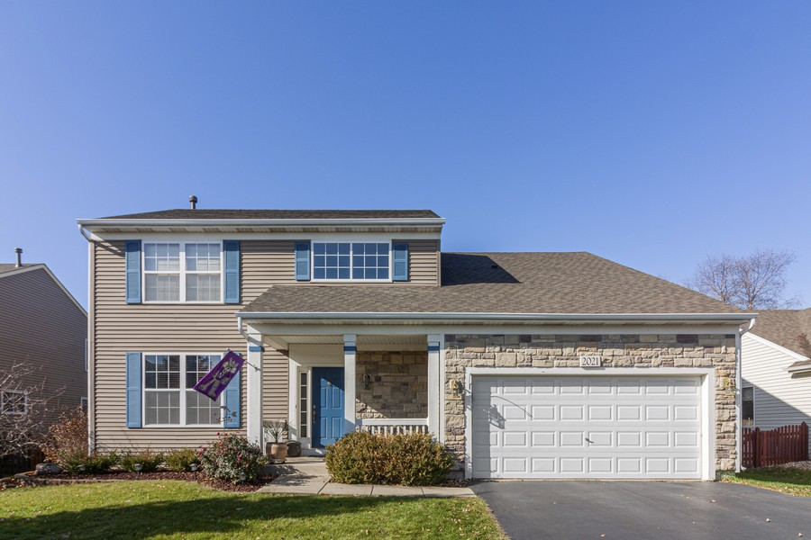 Real Estate Photography - 2021 Lyndhurst, Aurora, IL, 60503 - Front View