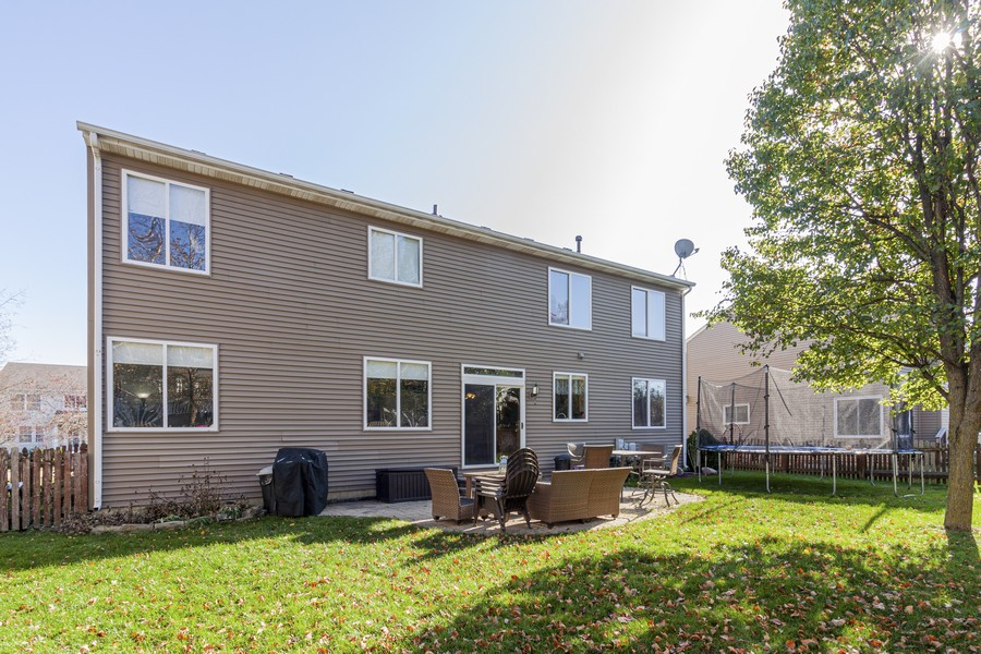 Real Estate Photography - 2021 Lyndhurst, Aurora, IL, 60503 - Rear View