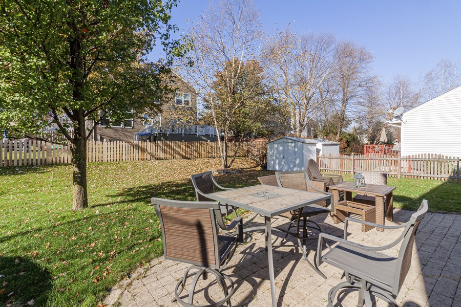 Real Estate Photography - 2021 Lyndhurst, Aurora, IL, 60503 - Patio