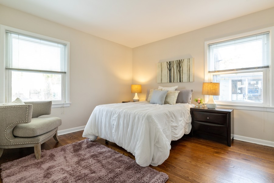 Real Estate Photography - 4408 W Bryn Mawr, Chicago, IL, 60646 - 2nd Bedroom