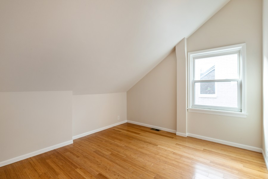 Real Estate Photography - 4408 W Bryn Mawr, Chicago, IL, 60646 - 4th Bedroom