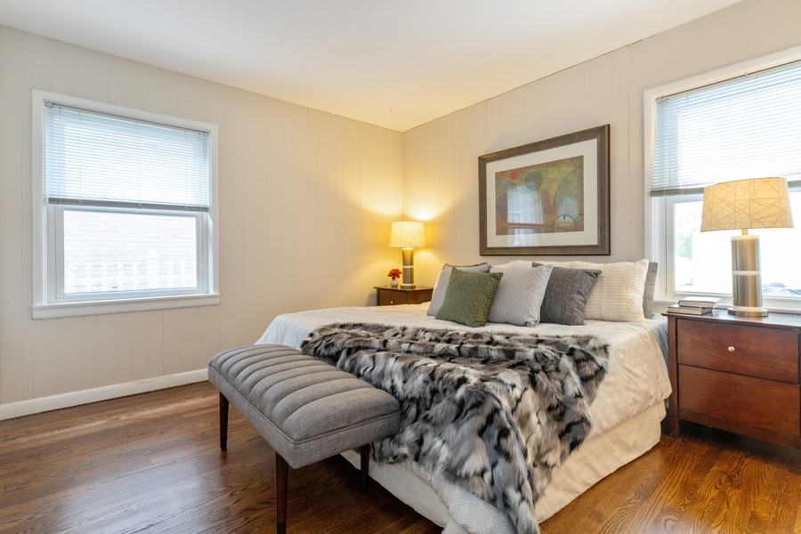 Real Estate Photography - 4408 W Bryn Mawr, Chicago, IL, 60646 - Bedroom