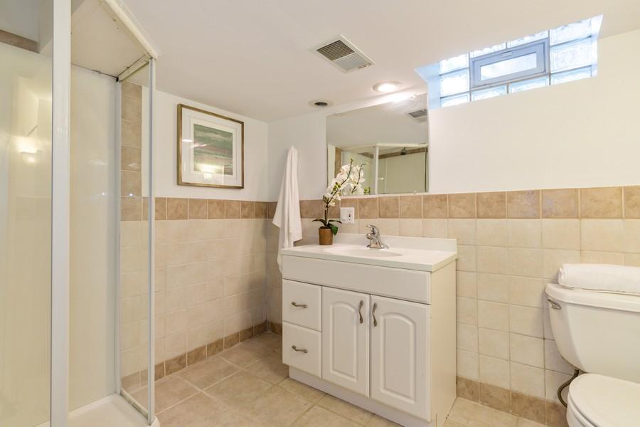 Real Estate Photography - 4408 W Bryn Mawr, Chicago, IL, 60646 - Bathroom