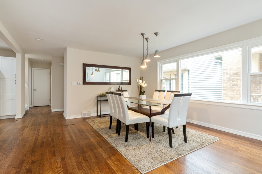 Real Estate Photography - 4408 W Bryn Mawr, Chicago, IL, 60646 - Dining Area