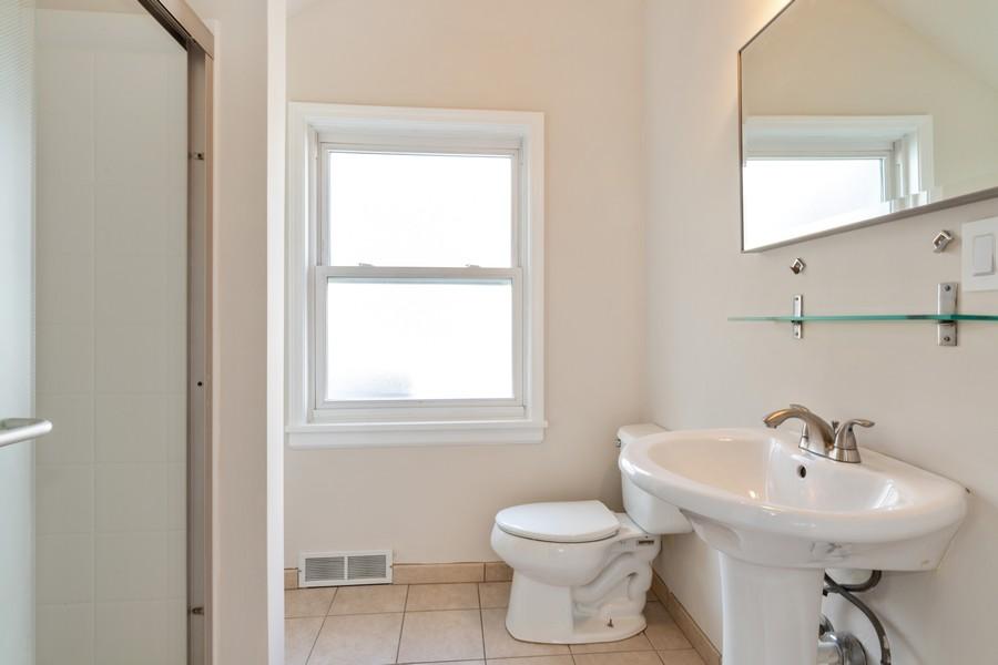 Real Estate Photography - 4408 W Bryn Mawr, Chicago, IL, 60646 - 2nd Bathroom