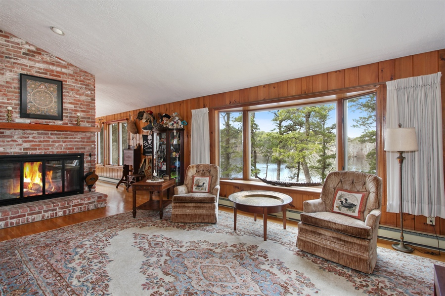 Real Estate Photography - 1020 Samoset Rd., Eastham, MA, 02642 - Living Room