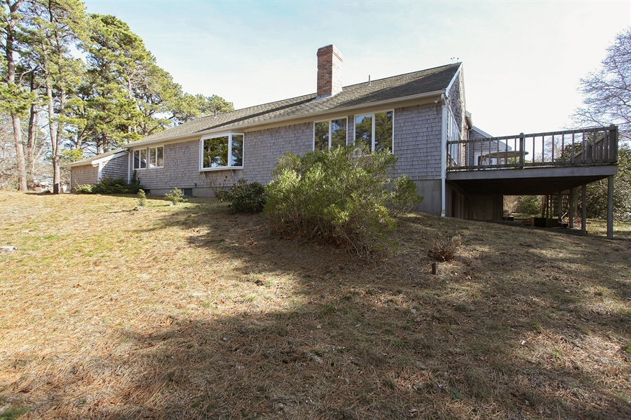Real Estate Photography - 1020 Samoset Rd., Eastham, MA, 02642 - Rear View