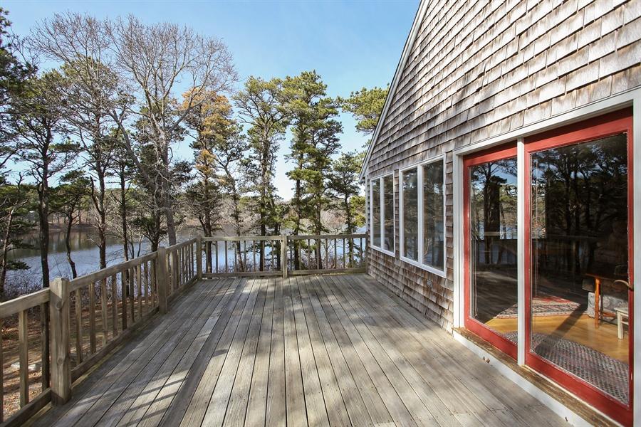 Real Estate Photography - 1020 Samoset Rd., Eastham, MA, 02642 - Deck