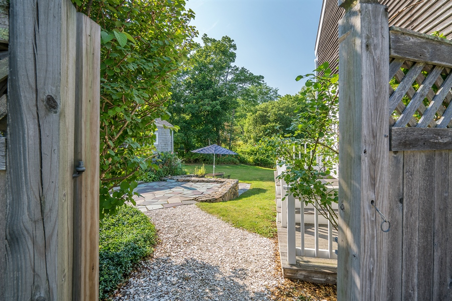 Real Estate Photography - 4096 Main, Cummaquid, MA, 02637 - Back Yard
