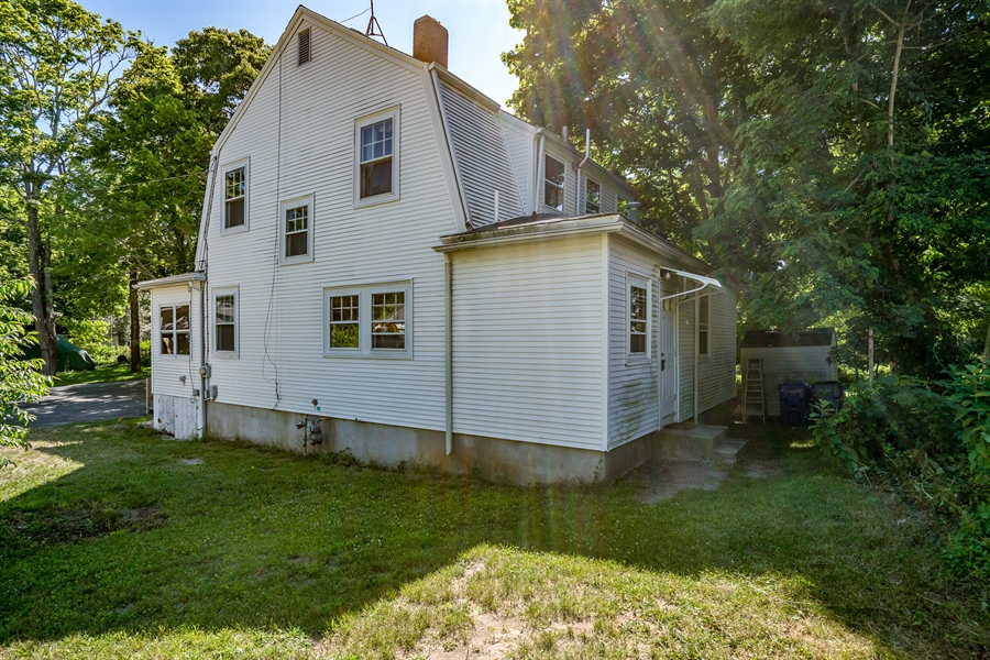Real Estate Photography - 25 Bayview Avenue, Bourne, MA, 02532 - Rear View