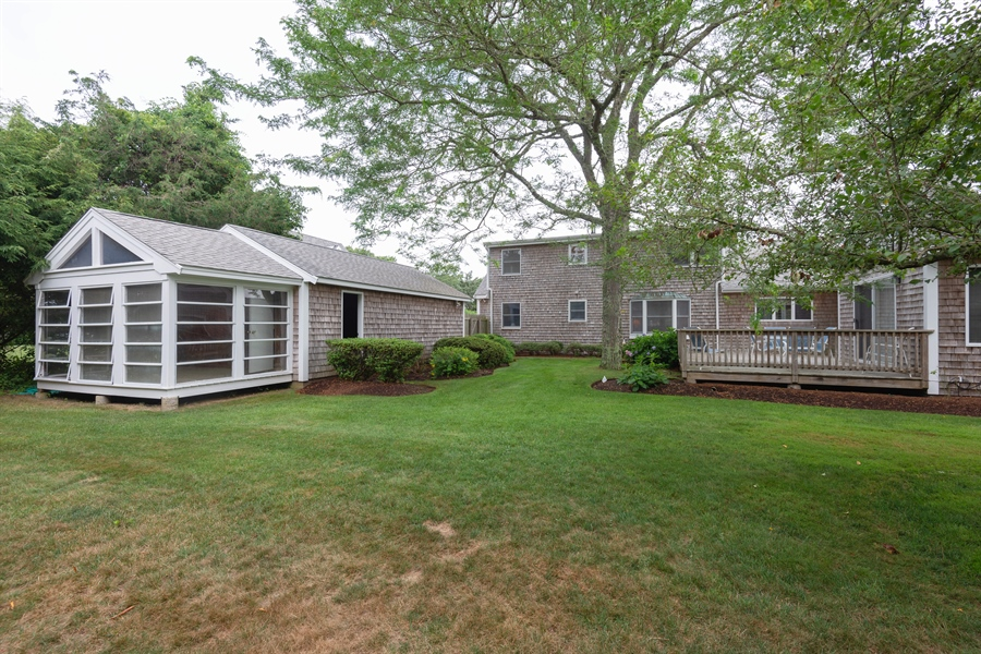 Real Estate Photography - 63 Anchorage Road, North Falmouth, MA, 02556 - Rear View