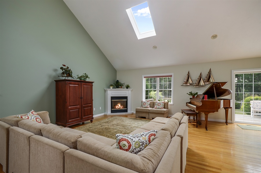 Real Estate Photography - 3 Harborview, Wareham, MA, 02571 - Family Room