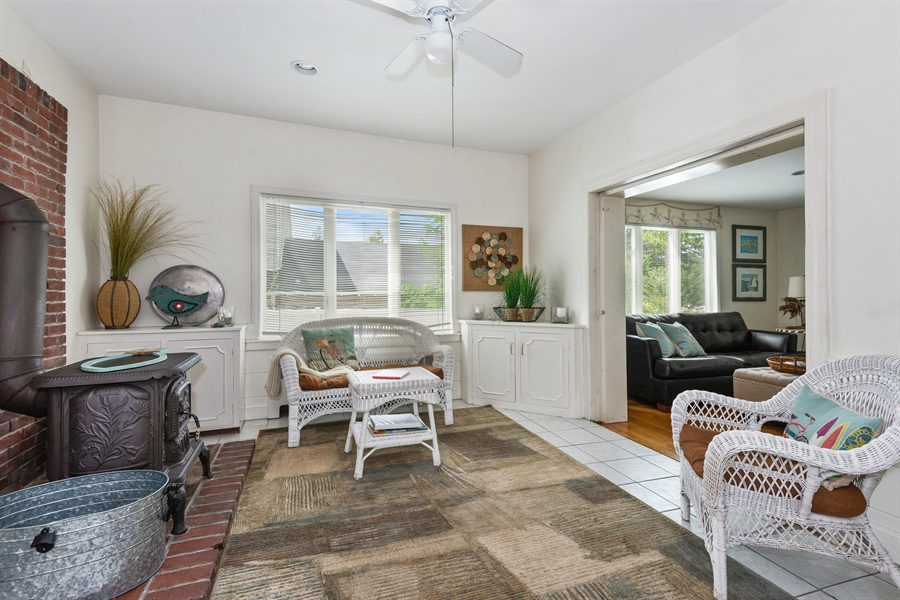 Real Estate Photography - 169 Gosnold St, Hyannis, MA, 02601 - Sitting Room
