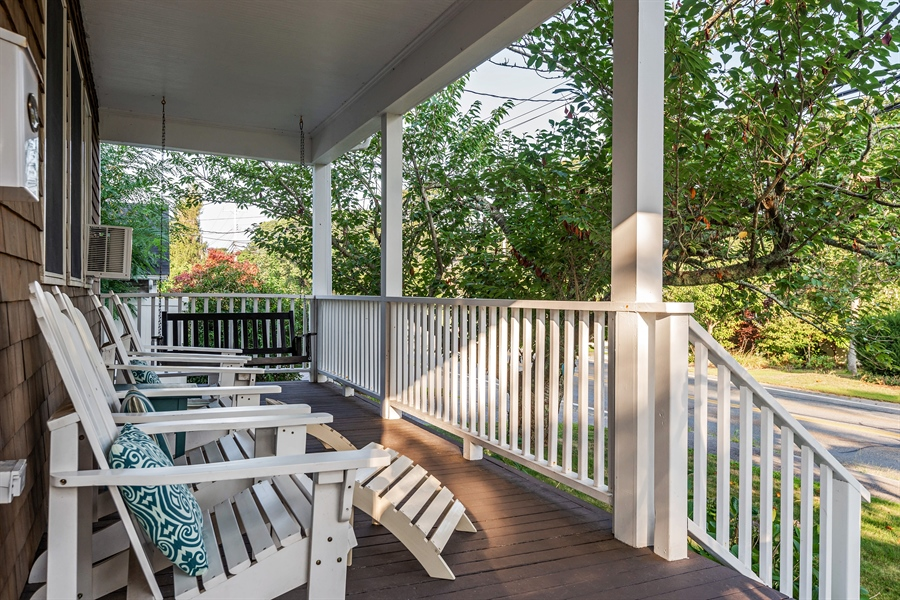Real Estate Photography - 169 Gosnold St, Hyannis, MA, 02601 - Porch
