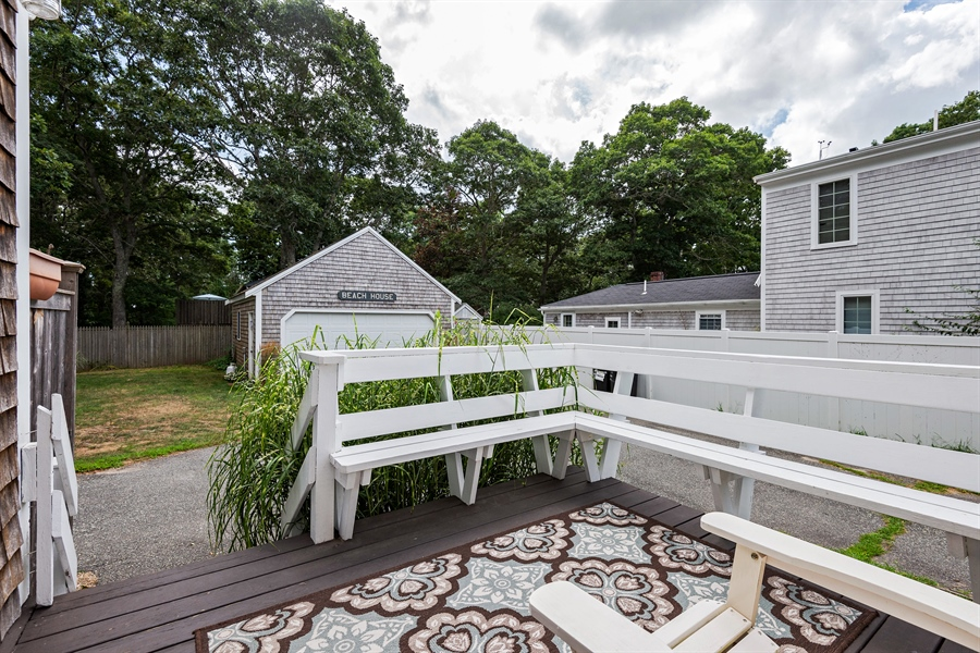 Real Estate Photography - 169 Gosnold St, Hyannis, MA, 02601 - Deck