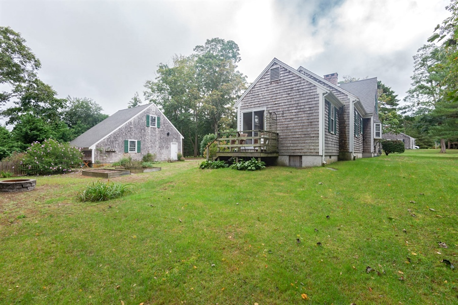 Real Estate Photography - 17 Belle Of The West, Yarmouth Port, MA, 02675 - Rear View