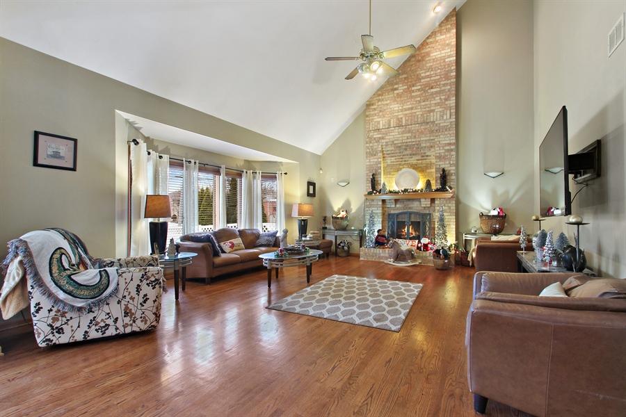 Real Estate Photography - 9140 N Washington St, Niles, IL, 60714 - Family Room